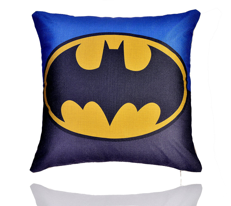 18 X 18 Comics Superhero Cotton Linen Decorative Pillow Cover Cushion Case Walmart Com Walmart Com