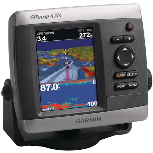 Garmin 010-00765-01 GPSMap 431S Marine GPS Receiver