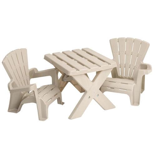 Kids Adirondack Table and Chair Set Walmart