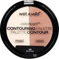 Merchandise 8756724 Wet N Wild Color Icon Contouring Palette, 749A Dulce De Leche - 0.46 oz