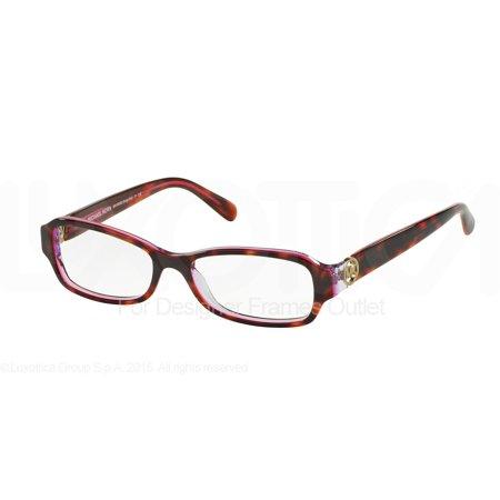 461701c7606 MICHAEL KORS Eyeglasses MK 8002F 3003 Tortoise Pink Purple 52MM -  Walmart.com