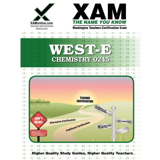West Epraxis Ii Chemistry 0245 Teacher Certification Exam