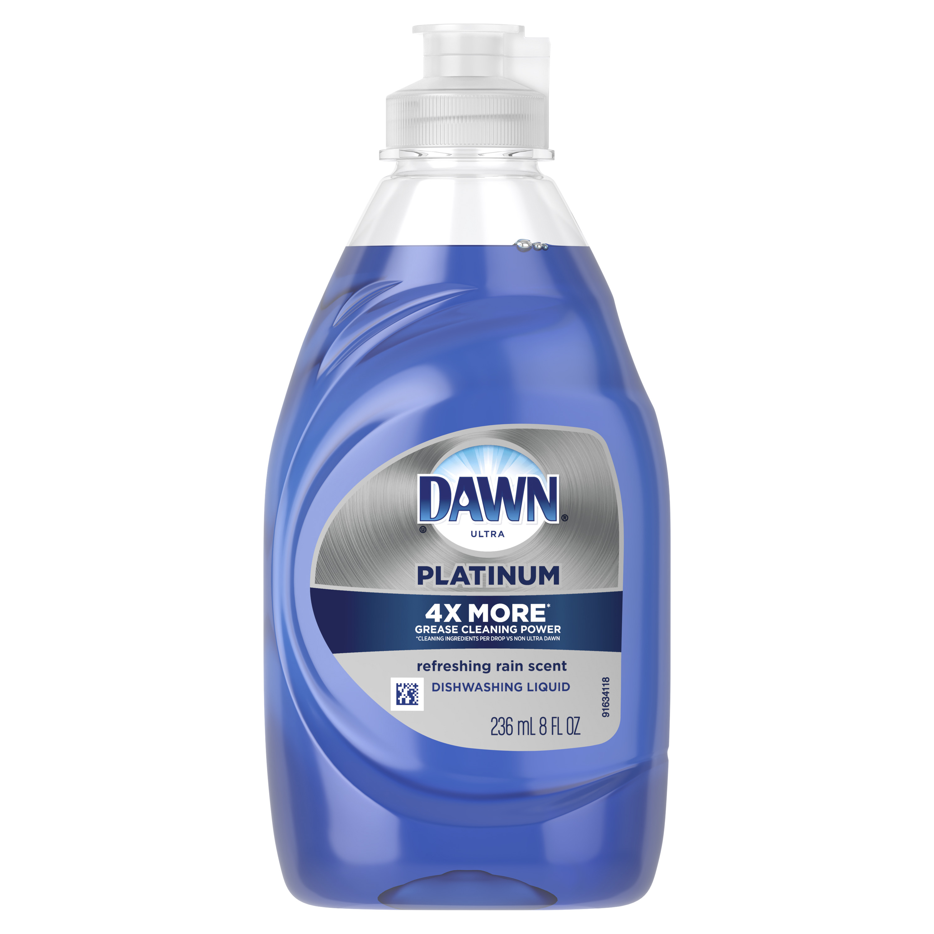 Dawn Platinum Dishwashing Liquid Dish Soap Refreshing Rain 8 oz
