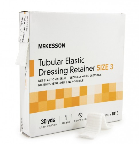 McKesson Retainer Dressing Tubular Elastic Dressing, Elas...