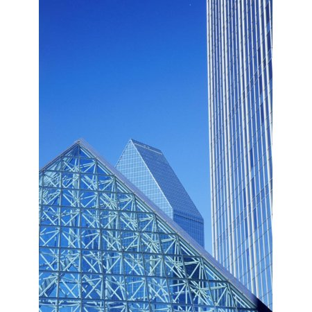 Renaissance Tower, Dallas, Texas, USA Print Wall Art ()