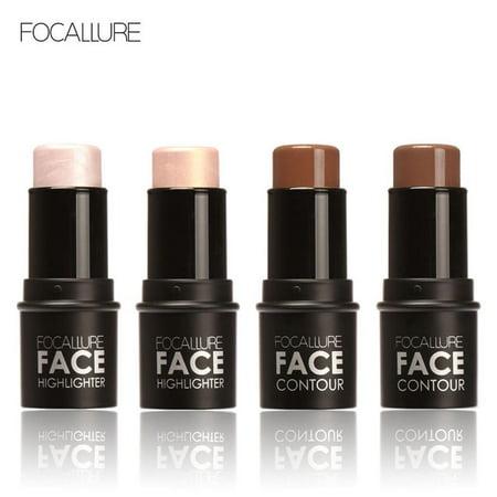 - Highlighter Stick Shimmer Powder Cream Shadow Highlighting Waterproof Face Eyes Makeup Cosmetics Coffee