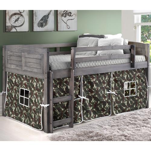 Donco Kids Twin Low Loft Bed by