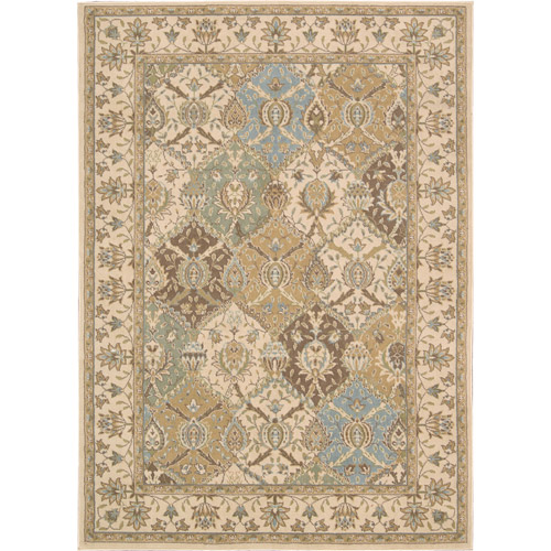 Nourison Modesto Multiple Diamonds Polypropylene Rug