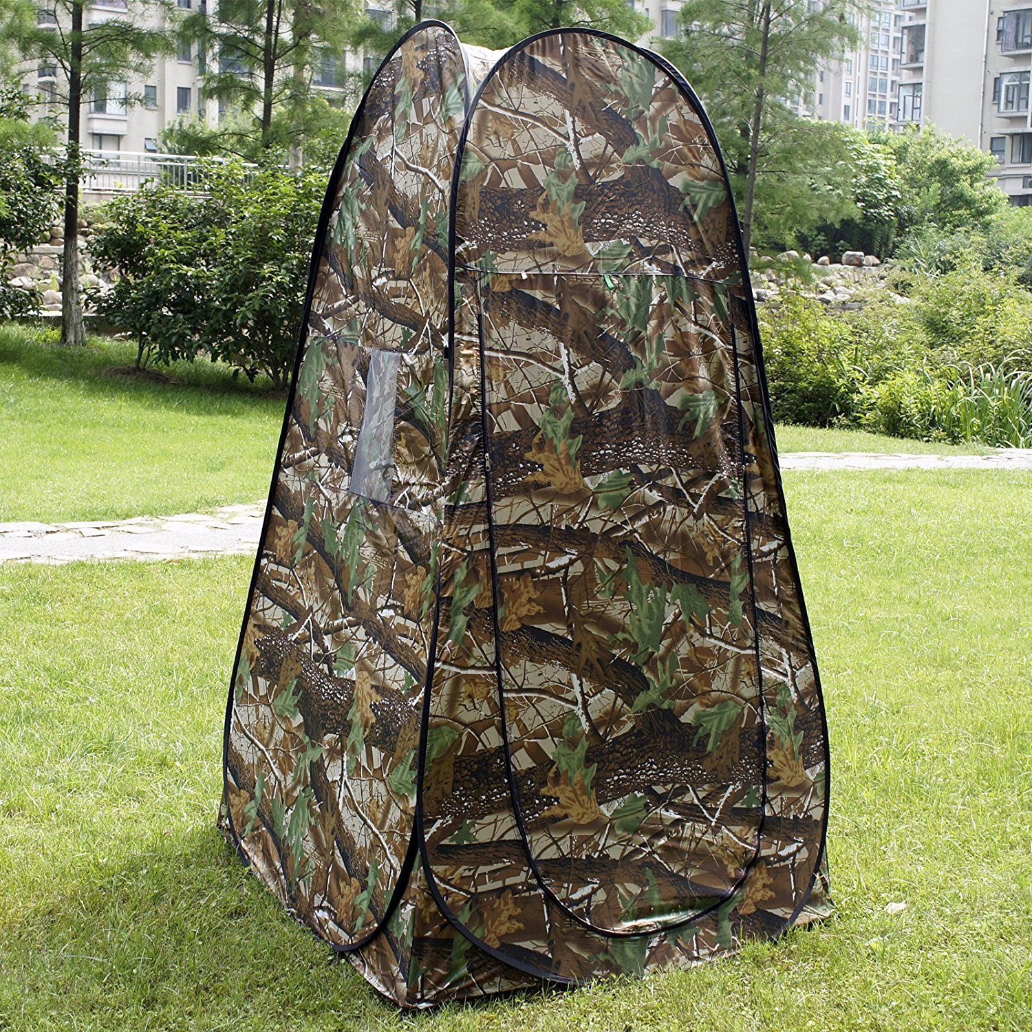 Changing Tent Hunting Privacy Shelter Portable Toilet Shower Changing Room Camouflage Blind & Changing Tent Hunting Privacy Shelter Portable Toilet Shower ...