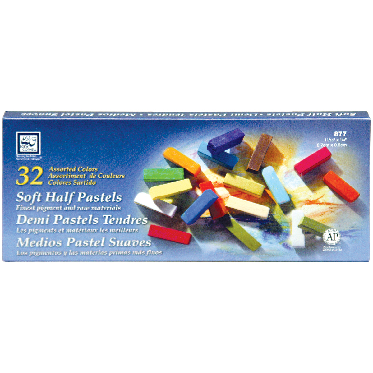 Soft Half Pastels 32/Pkg-Assorted Colors - image 1 of 1