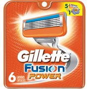 Gillette Fusion Power Razor Cartridge Refills, 6 count