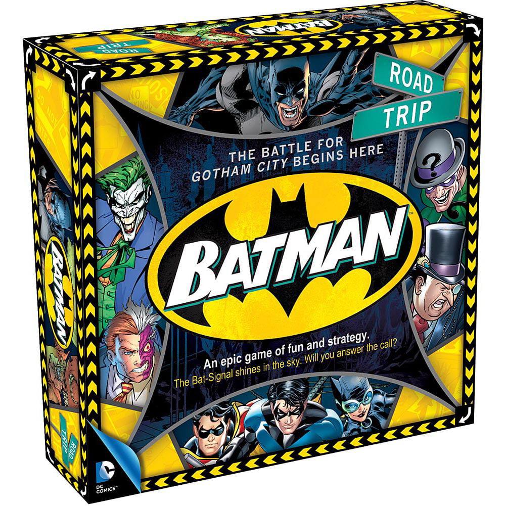 Aquarius Batman Road Trip Board Game by Aquarius