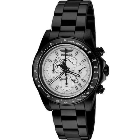 Character Collection Chronograph Silver Popeye Dial Mens Watch 24485