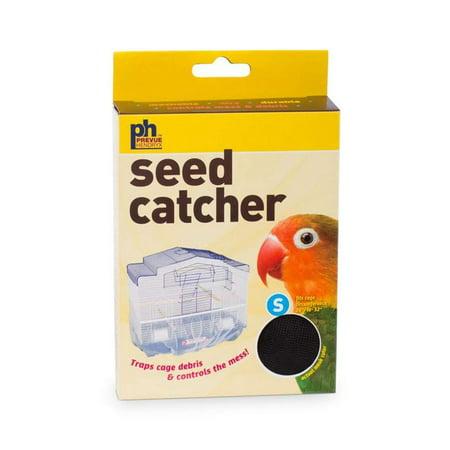 Prevue Pet Bird Cage Mesh Seed Catcher - Black - Small - 820B