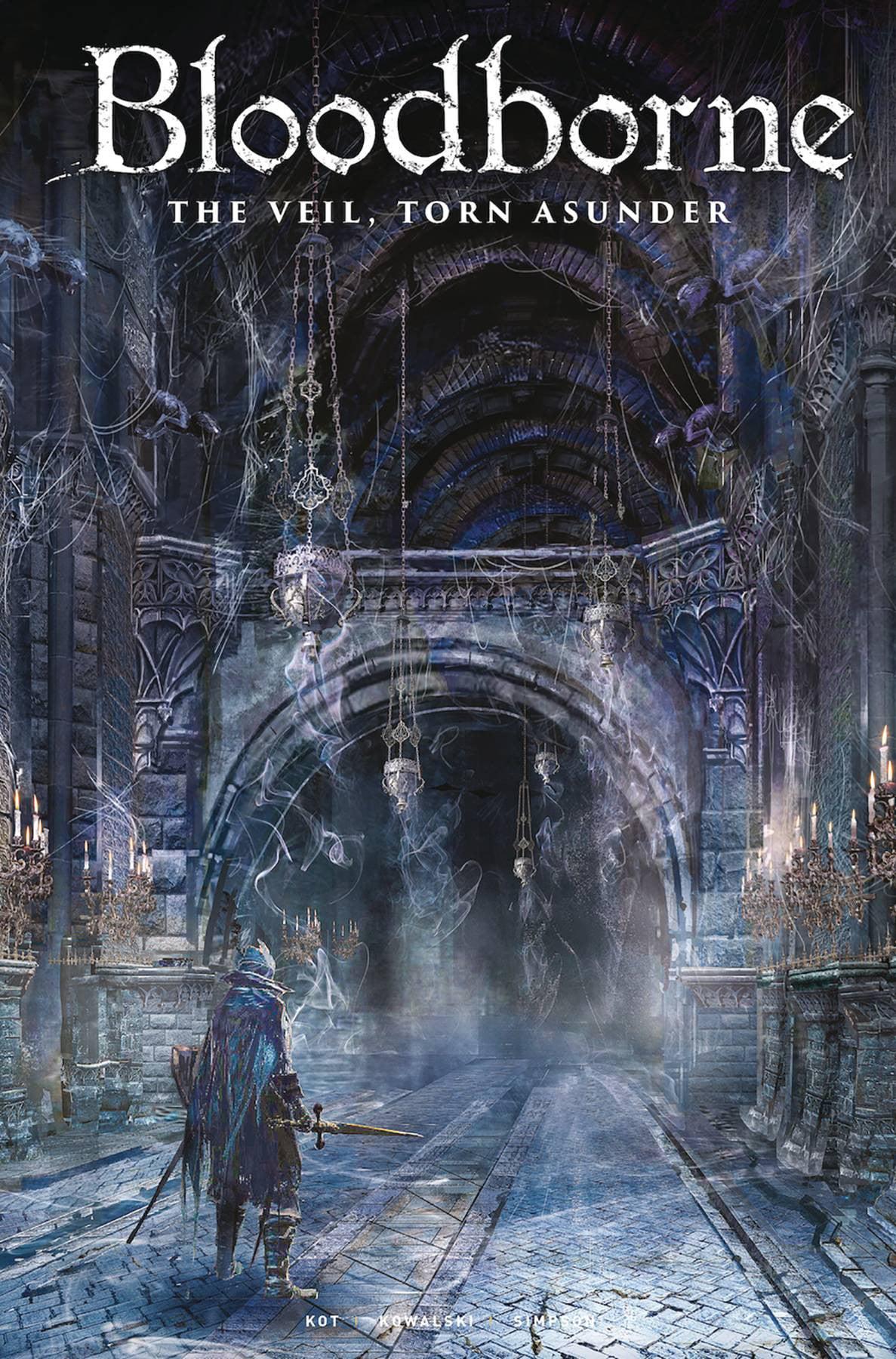 Bloodborne #13 Veil Torn Asunder cover B Titan comic 1st Print 2019 unread NM
