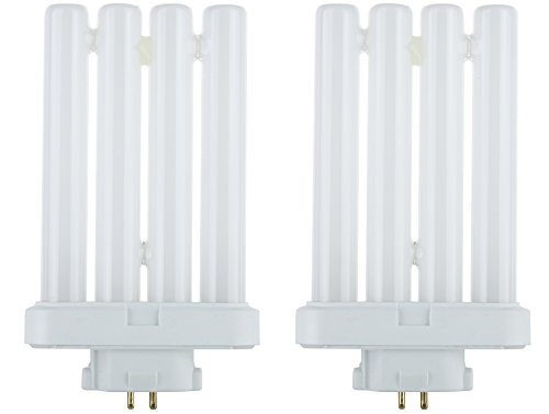 STERL LIGHTING 2 Bulbs FML27 65 FML 27 Watt Quad Tube Compact Fluorescent Light Bulbs,... by