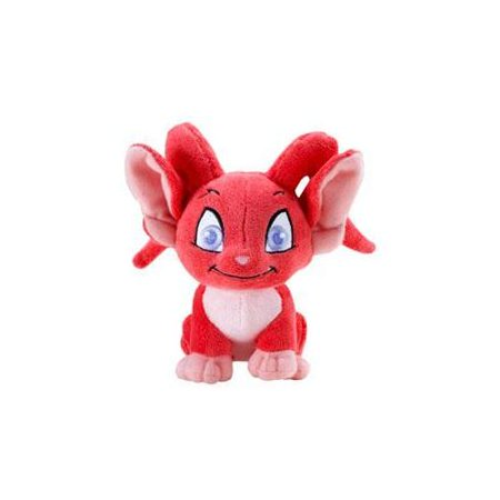 neopets collector species series 5 plush with keyquest code red acara