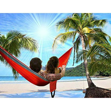 Ktaxon Camping Hammock- Easy Hanging 2 Person Double Hammock Chair banana hammock family hammock patio swing, 600lbs](Banana Hammock Men)