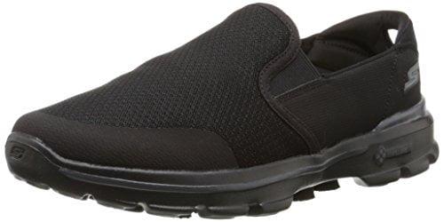Skechers Performance Men's Go Walk 3 Charge Walking Shoe,Black,9.5 M