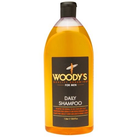 Daily Shampoo by Woody's for Men - 33.8 oz -