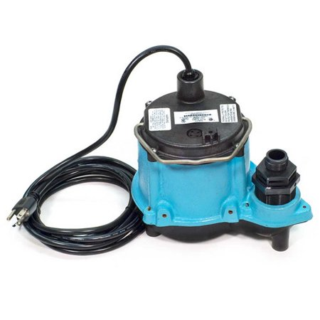 Little Giant 506271 6 Cim R 1 3Hp 45 Gpm Manual Submersible Sump Pump