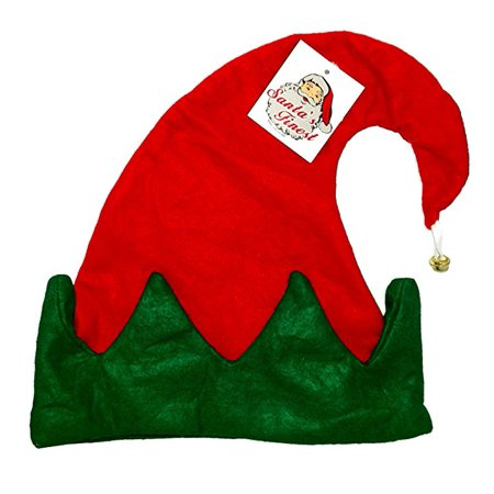 Jester Elf Hat With Attached Jingle Bell - Savers Halloween Jingle
