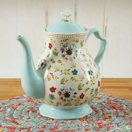 The Pioneer Woman Kari 2.4 Quart Tea Pot Only $16.88