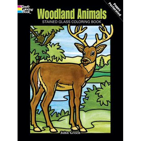 Woodland Animals Stained Glass Coloring Book](Stained Glass Mlp)
