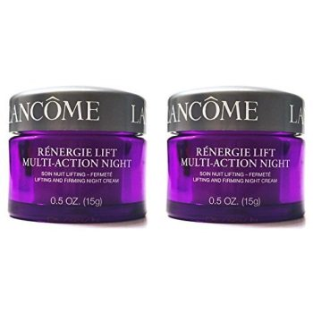renergie lift multi-action night lifting and firming night cream for all skin types, 2 jars, 0.5 oz. each
