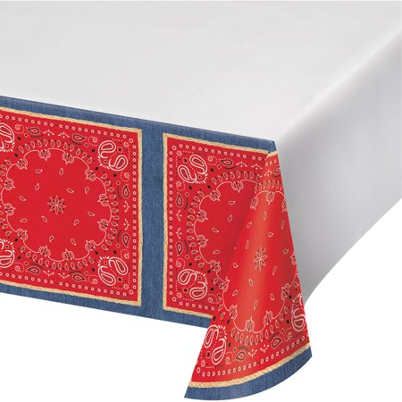 Bandanarama Plastic Tablecloth
