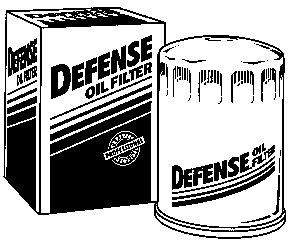 defense dl3970 engine oil filter
