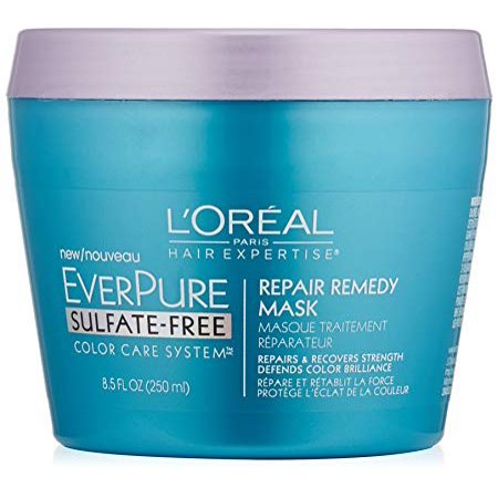 L'Oreal Paris Hair Care Expertise Everpure Repair and Defend Rinse Out Mask, 8.5 Fl Oz + Facial Hair Remover (Top Facial Hair Styles)