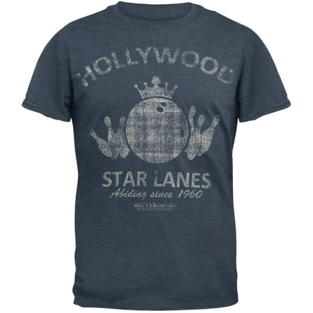 Big Lebowski - Hollywood Star Lanes Soft T-Shirt - Big Lebowski Jesus