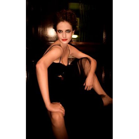 Eva Green Poster Black dress 16