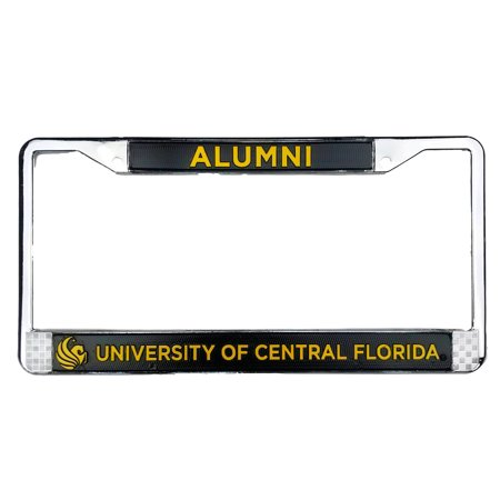 University Of Central Florida Ucf Alumni License Plate