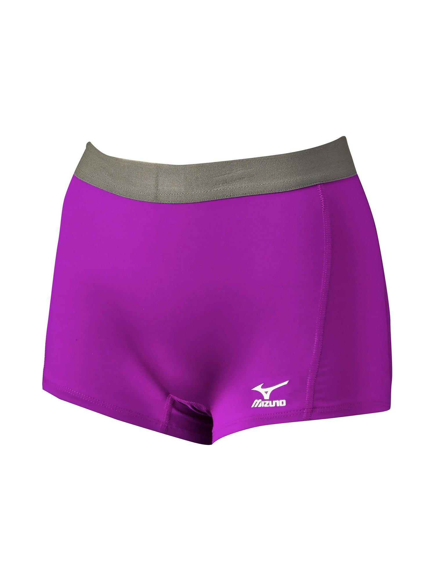 mizuno flat front volleyball shorts g2