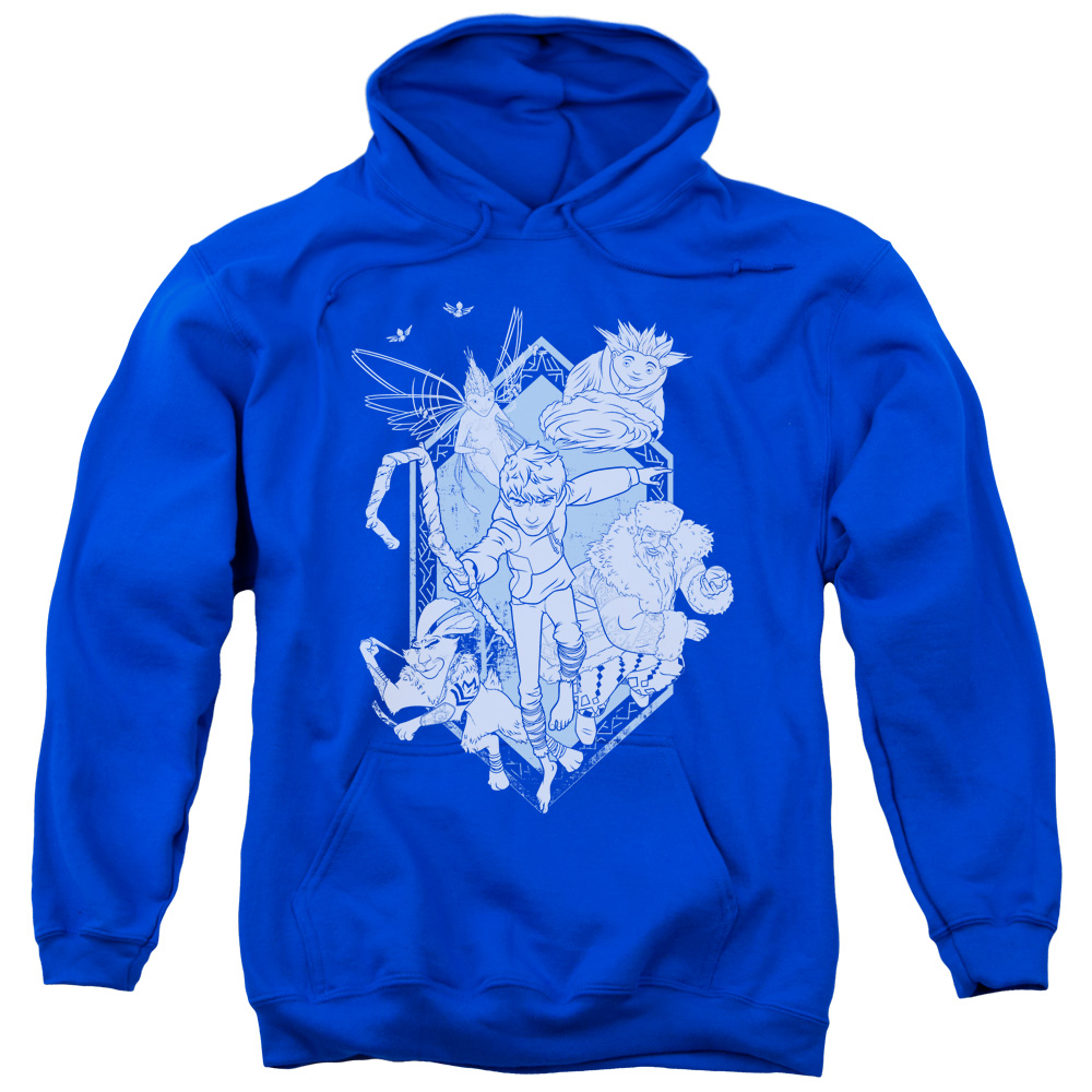 Rise Of The Guardians Coming For You Mens Pullover Hoodie
