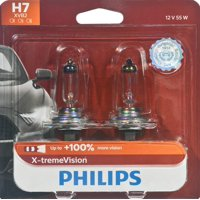 Philips X-Tremevision Headlight H7, Px26D, Glass, Always Change In Pairs!