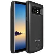 Samsung Galaxy Note 8, 6500mAh Rechargeable External Power Case for Samsung Galaxy Note 8 - Black - by Cellet