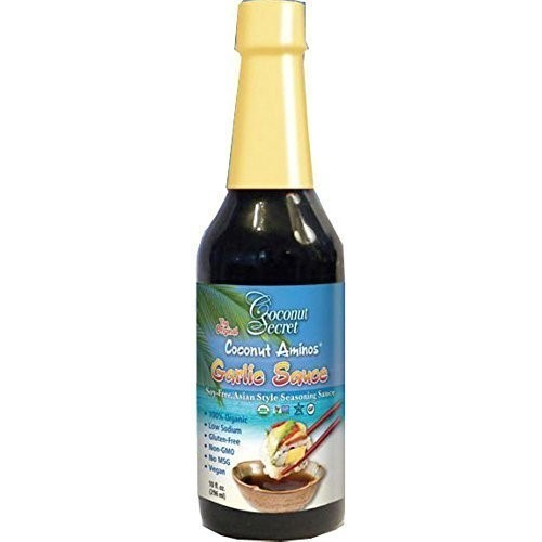 Coconut Secret Coconut Aminos Organic Garlic Sauce, 10 Oz