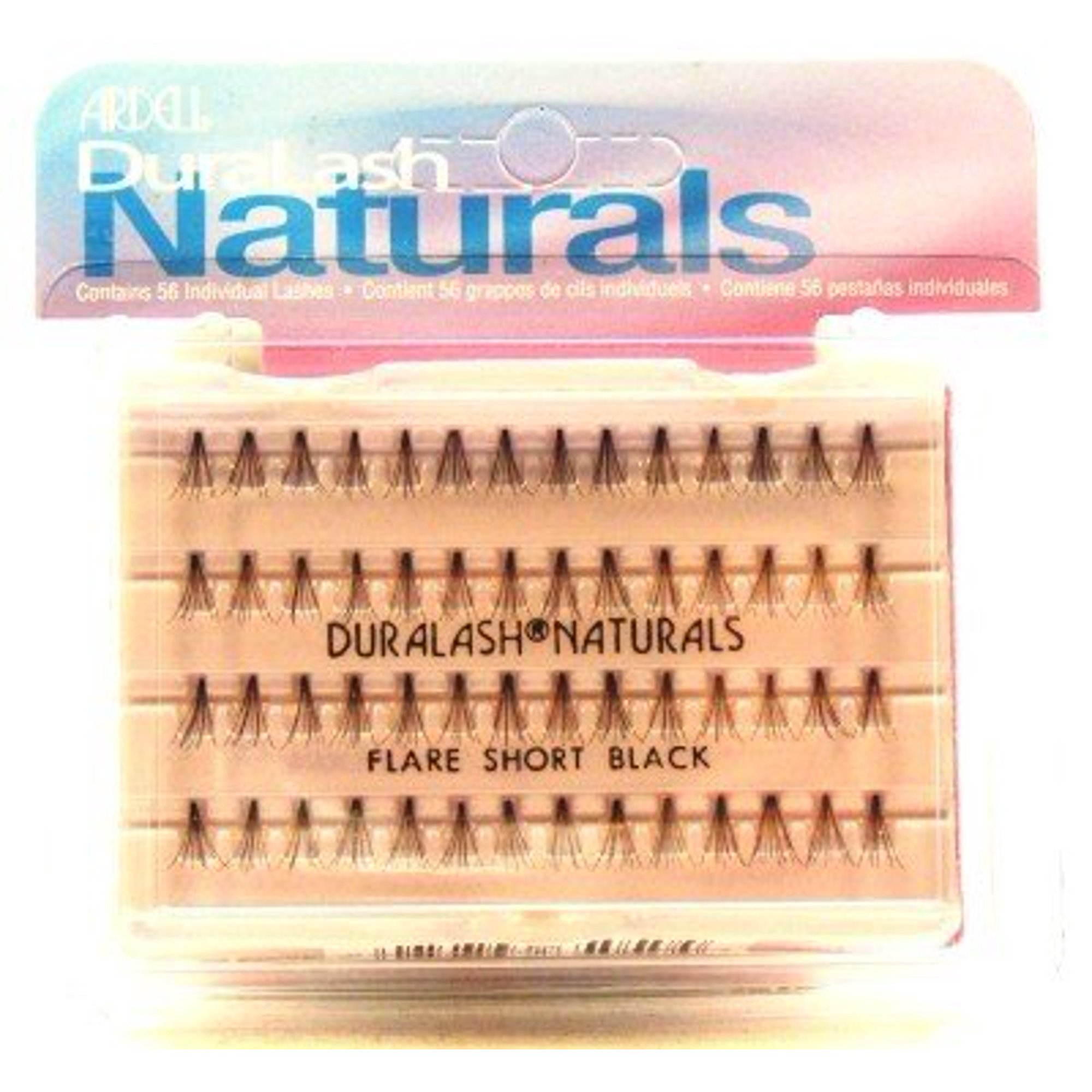 9603ecfd704 Ardell Duralash Naturals Flare Short Black (56 Lashes) (Case of 6) |  Walmart Canada ?