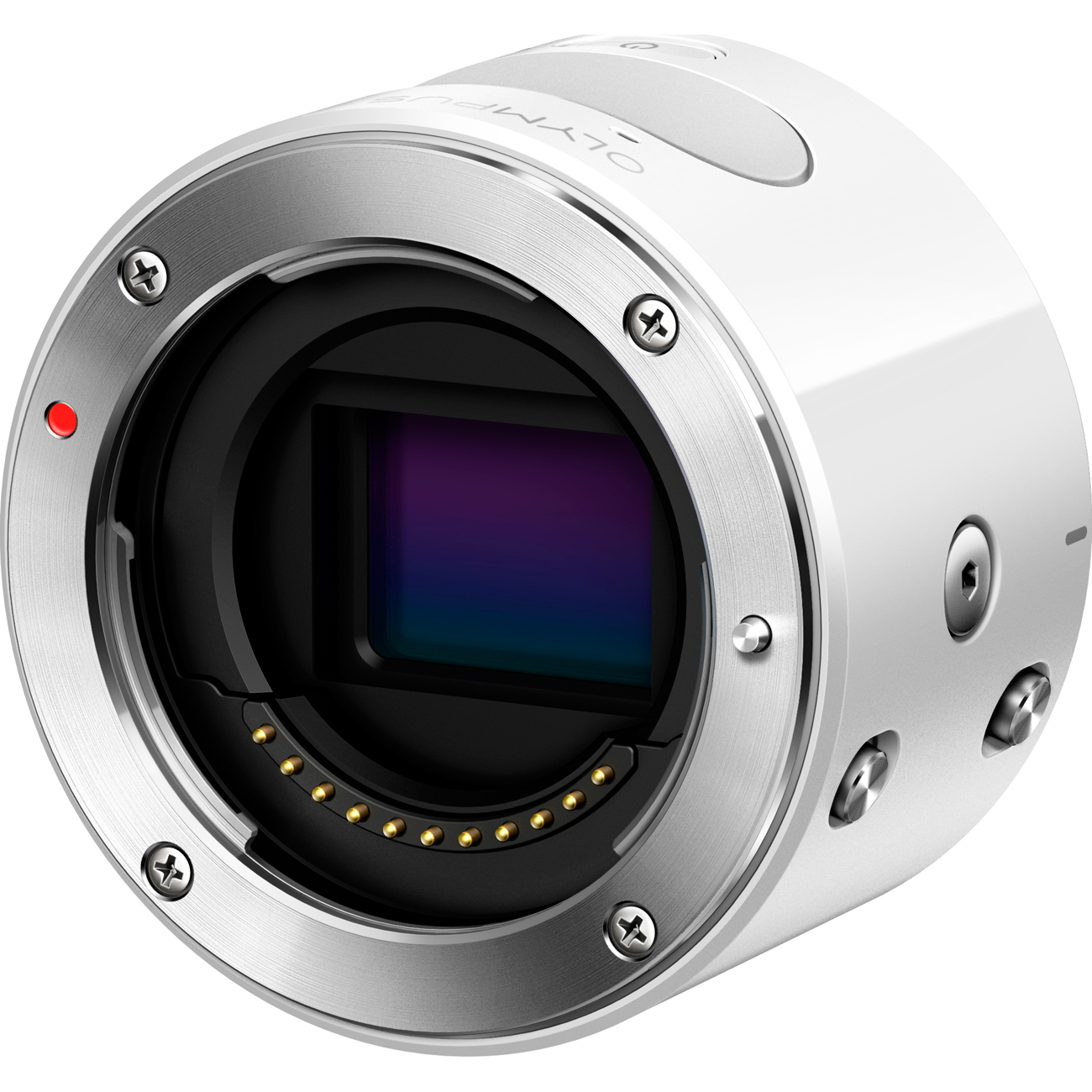 Olympus Air A01 16MP Interchangeable Lens Smartphone Camera Body (White)
