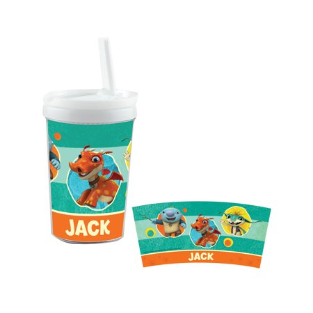 Personalized Wallykazam Silly Circles Sippy Cup