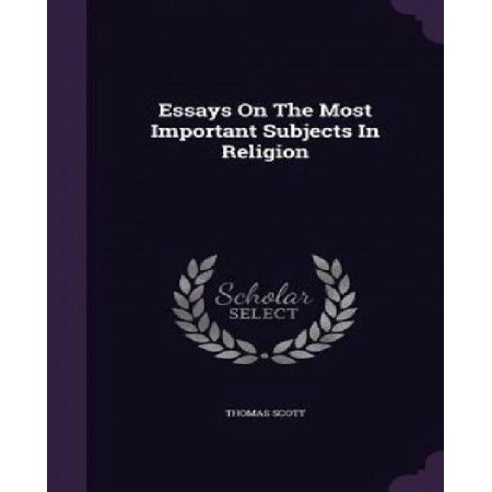 Essays on the Most Important Subjects in Religion - image 1 de 1