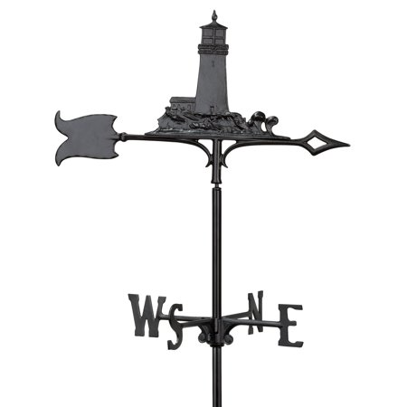 Whitehall 30 in. Lighthouse Rooftop Weathervane Eagle Rooftop Weathervane