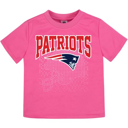 - Toddler Gerber Pink New England Patriots T-Shirt