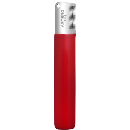 Artero Professional Fine Stripping Knife Red for (Dog Stripping Knife)