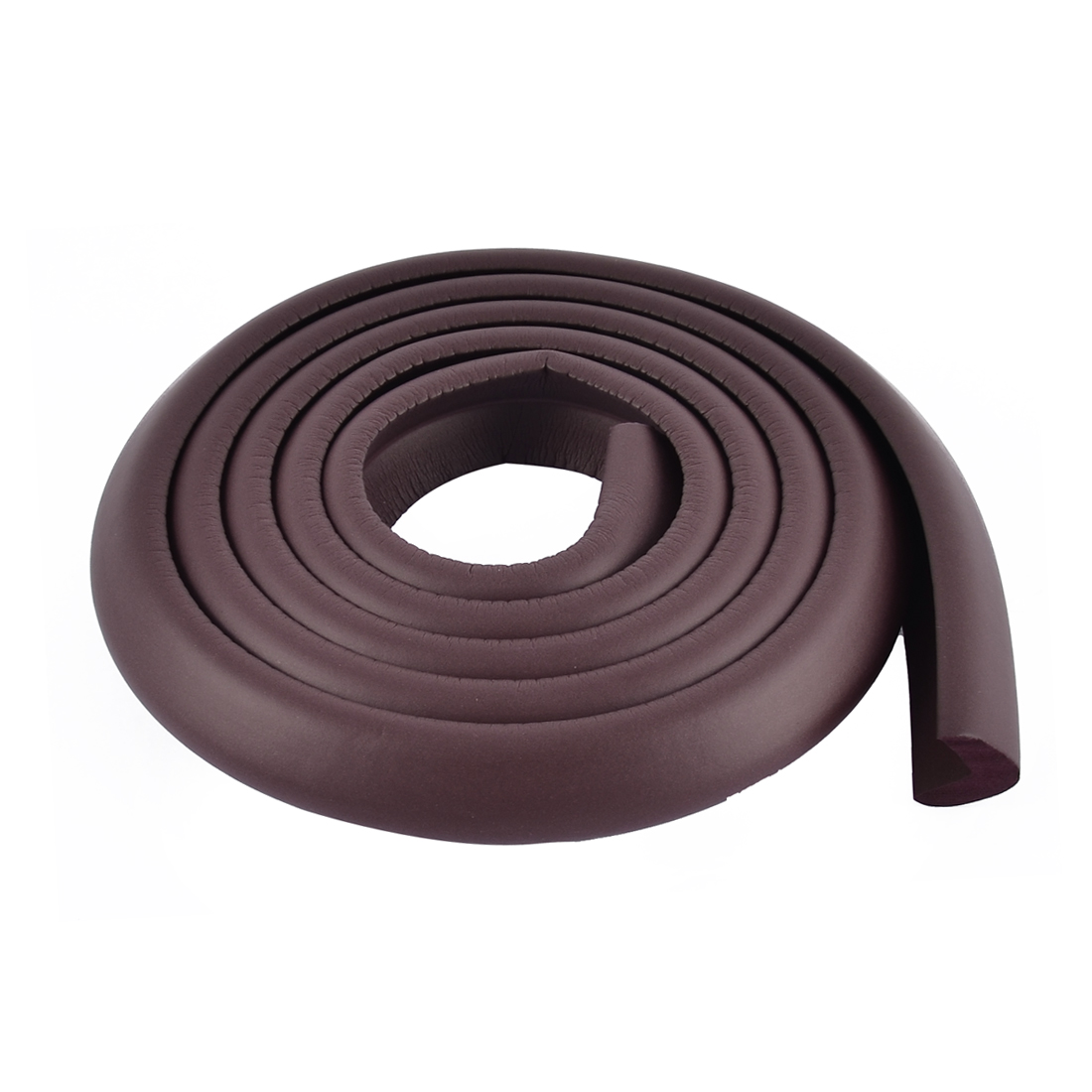 Table Corner Edge Softner Safety Protection Cushion Guard 24mm x 8mm Dark Brown