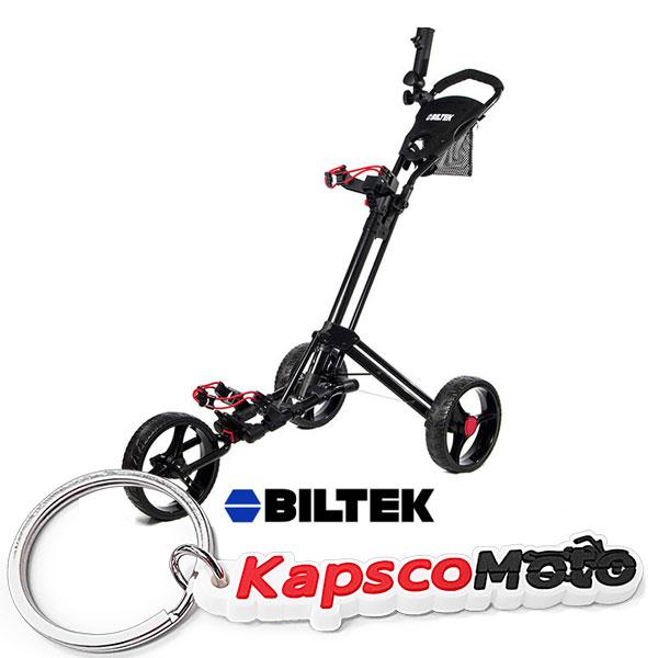 Biltek Biltek Premium 3-Wheel Golf Push Cart Trolley Blac...