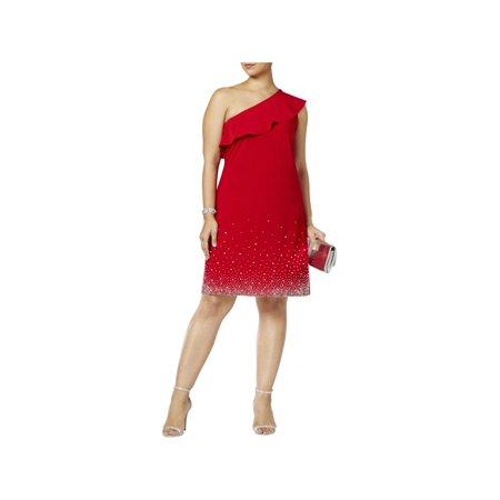 MSK Women Womens Plus Party Club Wear Cocktail Dress